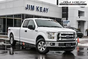 2016 Ford F-150 XLT SUPERCAB 4X4 W/5.0L V8, TOW PACKAGE & BRAKE