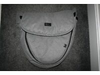 Silver Cross Surf Special Edition Eton grey APRON footmuff cover spare *can post*