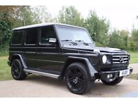 Mercedes-Benz G Class G63 AMG/ BRABUS Replica 3.5 AUTOMATIC, DIESEL, LHD, 4X4, G350 SUV, PX WELCOME