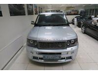 LAND ROVER RANGE ROVER SPORT 2.7 TD V6 HSE 5dr Auto (silver) 2008