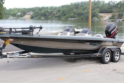 2003 PRO CRAFT 210 SUPER PRO 21FT BASS BOAT W/ 225HP MERCURY ...ONLY 267HRS!!!!!