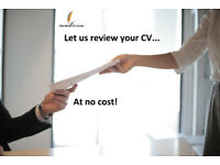 Get a FREE CV review from professionals!