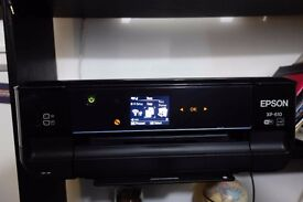EPSON XP-610 IN EXCELLENT CONDITION WITH EXTRA INK