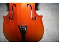 Skylark Violin Suitable for Young Student in need a Service to Bring this up to use