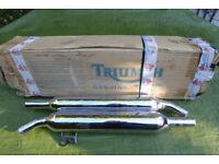 New Triumph Bonneville exhausts 2206355