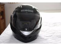 Motorcycle Helmet - Duchinni D605 in Black