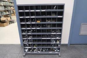 Cabinet of Parker Fittings