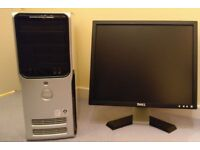 Dell Inspiron 9200 with Dell E197FP LCD Monitor and Espon DX4800 series Printer.