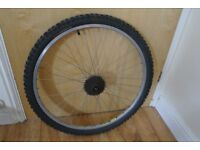 Mountain Bike 26 Inch Rear Wheel 7 Speed Cassette With Tyre Mavic Rim Can Deliver If Local