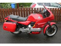 BMW K100 RS 1989, Very Low Miles, MOT until18th August 2017 (full year), heated grips, just serviced
