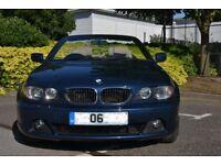 BMW E46 Convertible 2.2 CI Auto 2006 + Alloys + Face lift + 320CI + Leathers + Service History