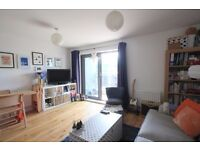 A well-maintained light one bedroom flat on the second floor of a popular residential cul de Sac
