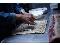 Sushi person/Hot food person/Kitchen Assitant/ waitress/kitchen porter/