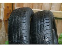 WHEELS/TYRES FOR SALE TWO:175/70 R14, TWO: 175/70 R13, ONE: 225/55 R16