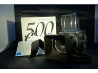 Hasselblad 500 CM FILM Camera Complete. Hardly used from new. 1991 model.