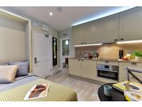 Short or Long Let, New Flat, Newly Refurbished Building, All bills and internet included