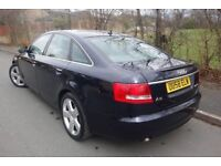2008 AUDI A6 2.7 TDI AUTOMATIC, S LINE, LEATHER SEATS, SAT NAV, 1 OWNER FROM NEW, HPI CLEAR