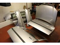 VAUXHALL ASTRA G (MK4) 1998-2004 STAR SILVER PANELS. CHEAP TO CLEAR, DOORS BONNET TAILGATE WINGS