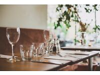 Greens Restaurant require a full time waiter/ress