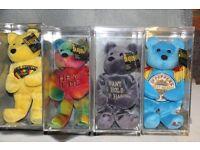 Beatles Beanie Bears