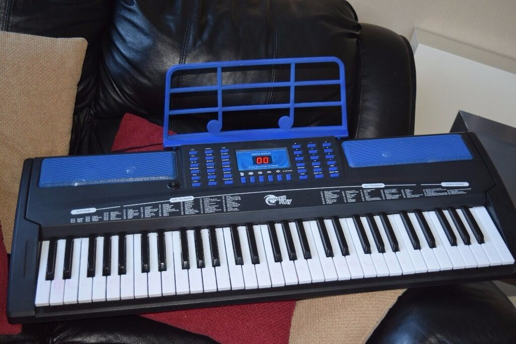 POWER PLAY RECORD AND PLAY KEYBOARD/CAN BE SEEN WORKING/POWER ADAPTERin Gateshead, Tyne and WearGumtree - POWER PLAY YOU CAN RECORD AND PLAY KEYBOARD POWER ADAPTER/MUSIC HOLDER INCLUDED GOOD WORKING CONDITION CAN BE SEEN WORKING ANY QUESTION PLEASE ASK 07538442344