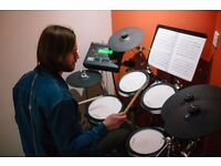 Drum Tutor. All ages and abilities welcome!