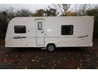 BAILEY PEGASUS 534 2010 TOURING CARAVAN 4 BERTH WITH FIXED DOUBLE BED