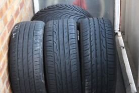 225/45/17 inch summer tyres only used for 3 months!!!