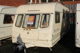 Avondale Rialto 1999 530/5 5 Berth Caravan £2200