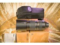 Nikon AF-S 80-400mm f/4.5-5.6 G ED VRII full-frame