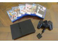 Playstation 2 Slim Bundle (Excellent Condition)