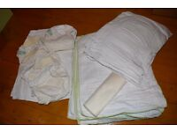 Washable nappy set of Earthwise outer pants and inner nappies