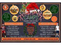 Sportacus Christmas Camps