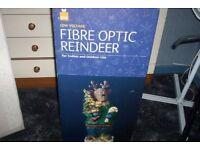 FIBRE OPTIC REINDEER