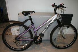 Girls / Ladies Mountain Bike Giant Rock Size XS