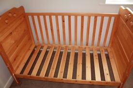 Cot Bed/Toddler Bed for sale