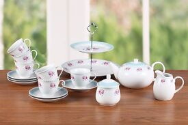 Afternoon Tea Set: new in box; sells for £35 on Amazon; a great gift for Bake Off fans or a wedding