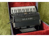 ALLODI Accordion Double Cassotto and Musitech Amp.