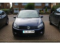 VW Golf 2l TDI, very nice car, cream leather, GPS
