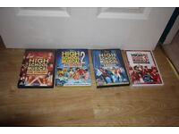 High School Musical DVD's and CD's collection