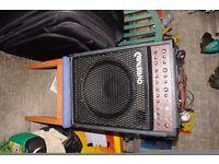 carlsbro amp with speaker