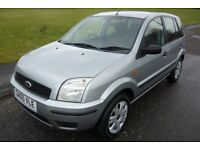 2005 Ford Fusion 1.4 16V 2 5dr Manual Hatchback like Fiesta Meriva Ultra low mileage