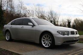 2003 BMW 7 Series 4.4 745Li 4dr LIMO, AUTO, LWB, HIGH SPEC, LOW MILES, FSH, 3M WARRANTY, PX WELCOME