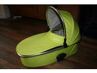 Babystyle Oyster 2 Lime Green CARRYCOT Fits MAX / GEM / OYSTER 1 (CAN POST)
