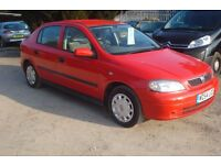 Vauxhall Astra Club 8v 2000-w-reg, 1600cc petrol, 5 door ONLY 105,000 miles,