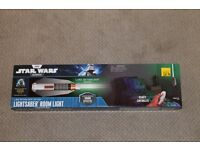 Star Wars Lightsaber room light NEW and boxed