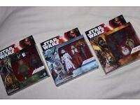 """7 x Star Wars TFA 3.75"""" Figures inc SIDON ITHANO / SNAP WEXLEY / SNOWTROOPER / UNKAR'S THUG - NEW"""