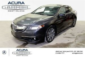 2015 Acura TLX ÉLITE Package CUIR+TOIT+NAVI+BLUETOOTH+CAMERA+++