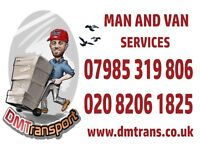 Man and van services- hire, removals ,courier, office, house, student move, garden clearance,