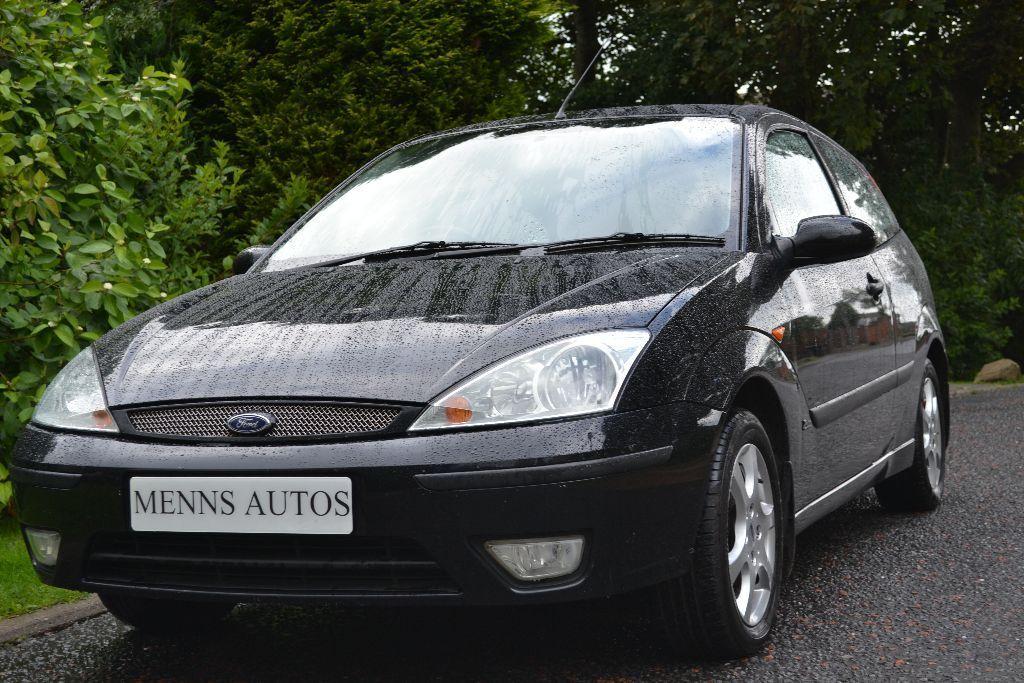 1 6 ford focus 2003 53p fsh full black leather interior for 02 ford focus 3 door